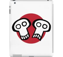 Get some theatrical skull iPad Case/Skin