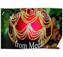 Merry Christmas from Meeli Poster