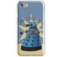 Blue Kitty Dalek iPhone Case/Skin