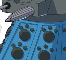 Blue Kitty Dalek Sticker