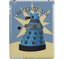 Blue Kitty Dalek iPad Case/Skin