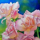 100% Watermedia - Flowers and Still Life by Fiona  Lee