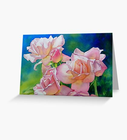A Nod To The Bard (A Rose By Any Other Name...) Greeting Card