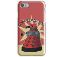 Red Dalek iPhone Case/Skin