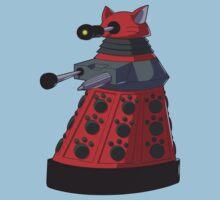 Red Dalek Kids Tee