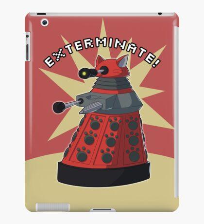 Red Dalek iPad Case/Skin