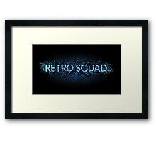 Retro Squad Series Framed Print