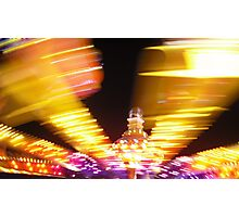 Spinning - Royal Melbourne Show, 2009 Photographic Print