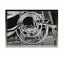 Metalic Vision Art Print