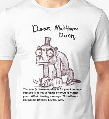 Dear Matthew Dunn, Unisex T-Shirt