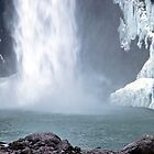 Base of Snoqualmie Falls by Barb White