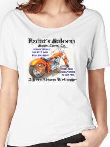 Ezcat's Saloon Women's Relaxed Fit T-Shirt