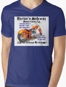 Ezcat's Saloon Mens V-Neck T-Shirt