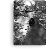 Apple and Weight Tree Canvas Print