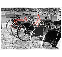 The Red Bike Poster