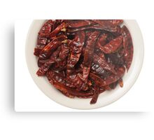 Indian Red Hot Peppers Metal Print