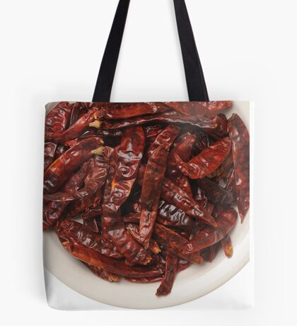 Indian Red Hot Peppers Tote Bag