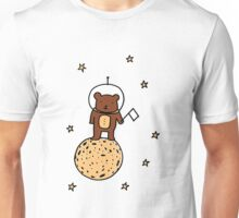Baby Bear goes to the Moon! Unisex T-Shirt