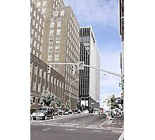 Etched City Streets  Photographic Print