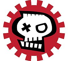 Get some tuff skull.  Photographic Print