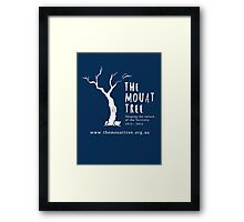 The Mouat Tree - white Framed Print
