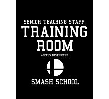 Smash School Training Room (White) Photographic Print