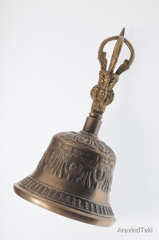 Buddha's Temple Bell by AravindTeki
