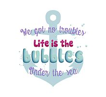 Life is the bubbles! Photographic Print