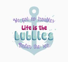Life is the bubbles! Womens Fitted T-Shirt
