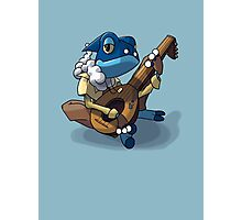 Reverence Core - Frogadier Battle Bard Photographic Print