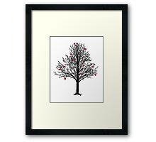 THE LOVE TREE Framed Print