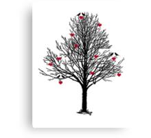 THE LOVE TREE Canvas Print