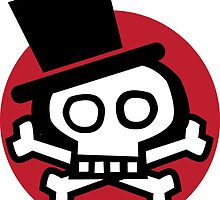 Get more debonair skull. by johnmduggan