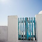 blue gate by Andrianne