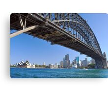 Icons of Sydney Canvas Print