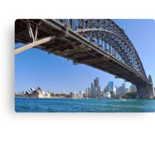 Icons of Sydney Canvas Print