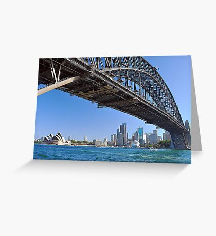 Icons of Sydney Greeting Card