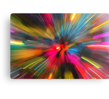 Christmas zoooooom Metal Print