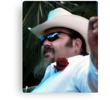 Formal Cowboy Canvas Print