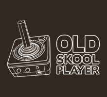 Old Skool Player by Karl Whitney