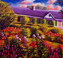 Monet's Garden and House by sesillie