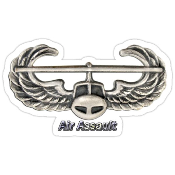 Air Assault Badge by Walter Colvin