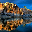 Big Rock Reflect by Bob Larson