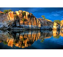 Big Rock Reflect Photographic Print
