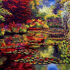 The Colors on Monet&#x27;s Pond by sesillie