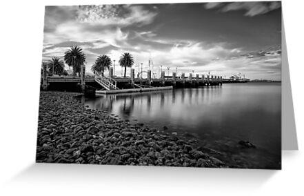 Cunningham Pier, Geelong Water Front, Victoria by Margaret Metcalfe