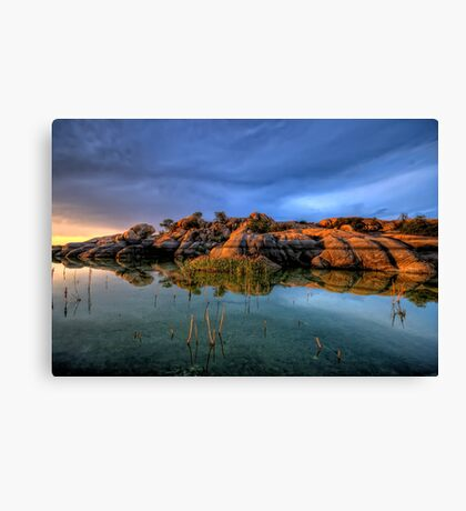 willow rock 2 Canvas Print