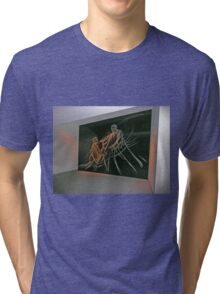 Etched glass, Temple of the Community of Christ Tri-blend T-Shirt