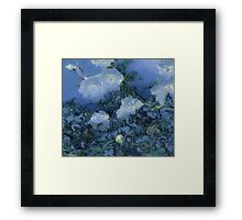 Abstracted Roses #1 Framed Print