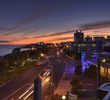 New Plymouth Sunrise by Tony Burton